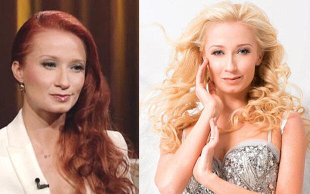 Karina hat die Haare rot!