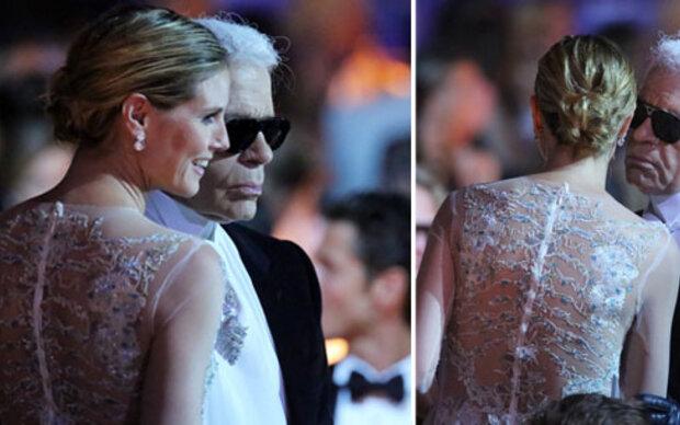 Friede zwischen Lagerfeld & Heidi Klum