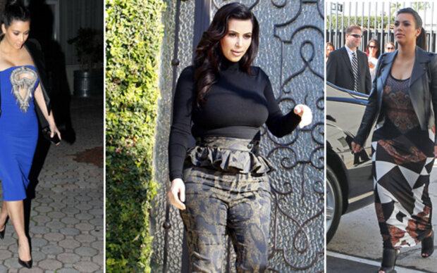 Kim Kardashians Flop-Umstandsmode