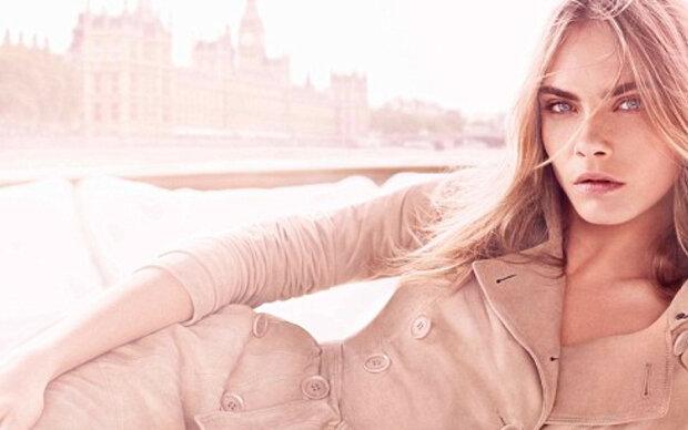 Cara Delevingne modelt für Burberry-Parfum