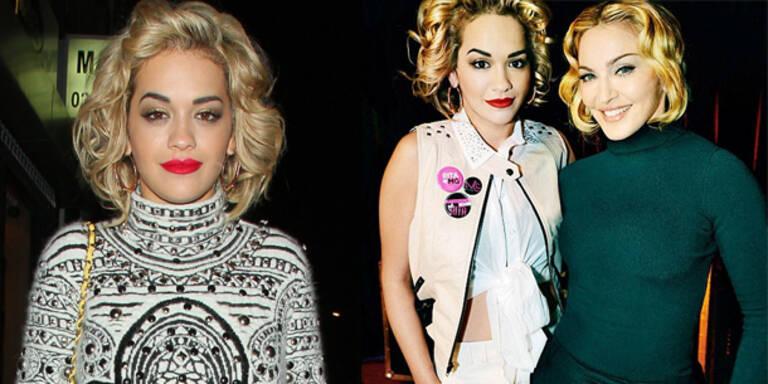 Rita Ora modelt für Madonnas Mode-Kollektion