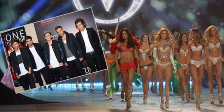 One Direction am Catwalk bei Victoria's Secret?