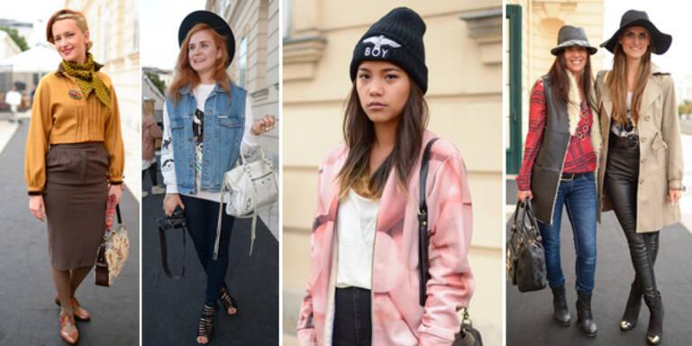 Street-Styles bei der Vienna Fashion Week