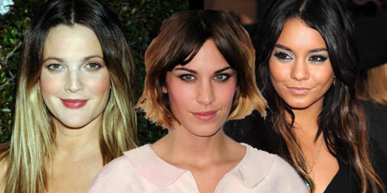 Neuer Sommerlook: Gefärbte Haarspitzen
