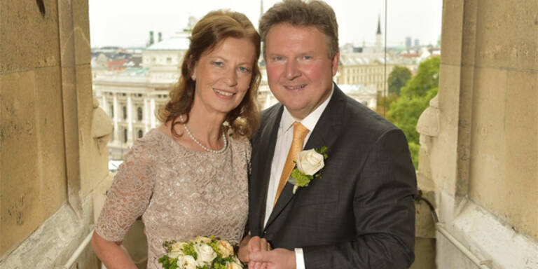 Ludwig hat im Rathaus geheiratet