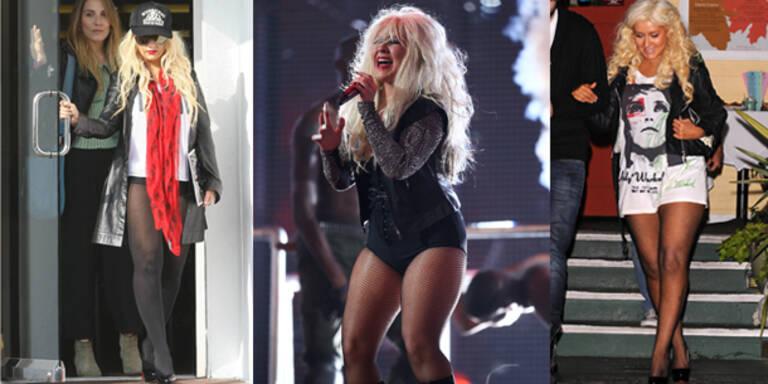 Christina Aguilera verzichtet auf Hosen