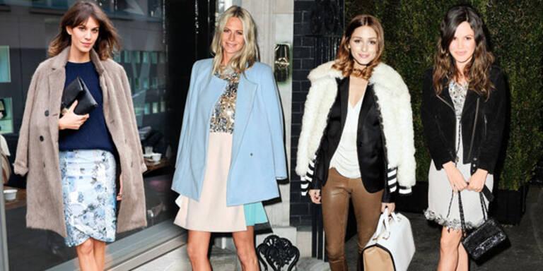 Coats plus Heels und Bags!