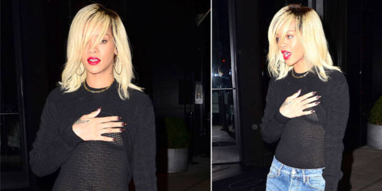 Rihanna lässt wieder einmal tief blicken