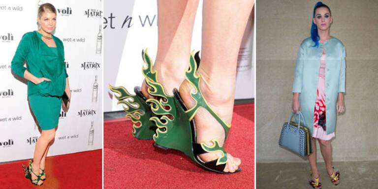 Feurig: Prada-Schuhe sind Kult