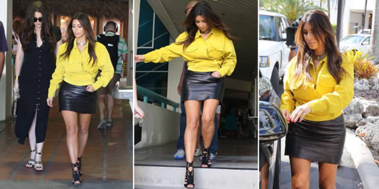 Kim gesteht sich Outfit-Fehler ein