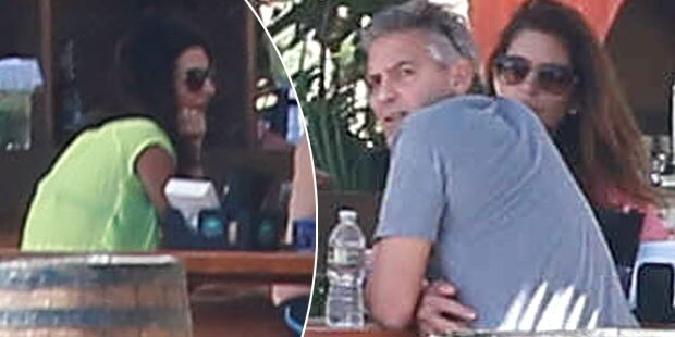 Clooney & Amal relaxen in Cabo
