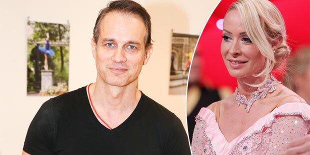 Ralf Bauer baggert Cora Schumacher an