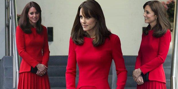 Kate: Mager-Alarm vor Weihnachten