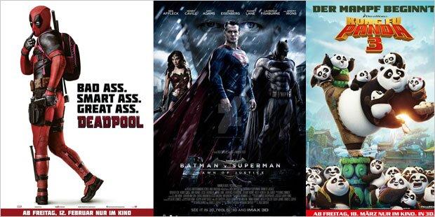 So wird das Kinojahr 2016