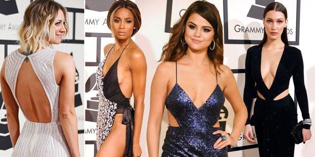 So nackt waren die Grammys 2016