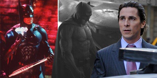 Wer war der beste Batman?