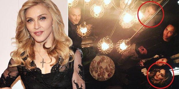 Madonna: Wieder Foto mit Sohn Rocco
