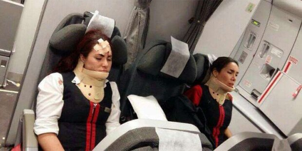 23 Verletzte nach Horror-Flug