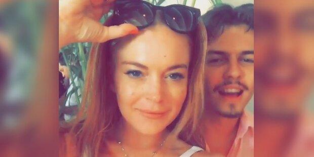 Lindsay Lohan feiert 30er auf Mykonos