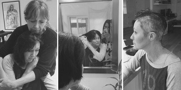 Shannen Doherty rasiert Haare ab