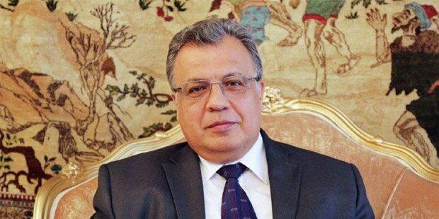 Anschlag in Ankara: Russischer Botschafter ist tot