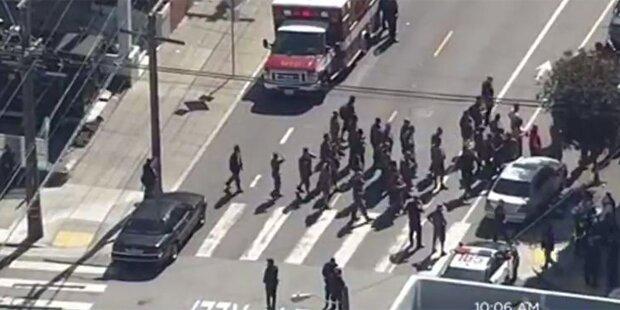 Schießerei in San Francisco: Mehrere Tote