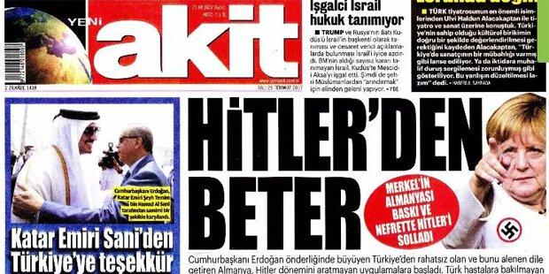 Türken-Zeitung: Merkel schlimmer als Hitler