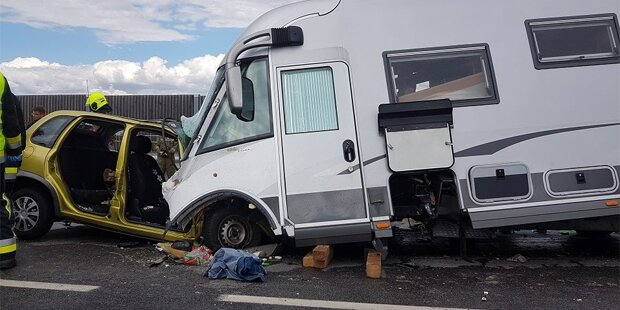 Neunjährige stirbt nach Horror-Crash in NÖ