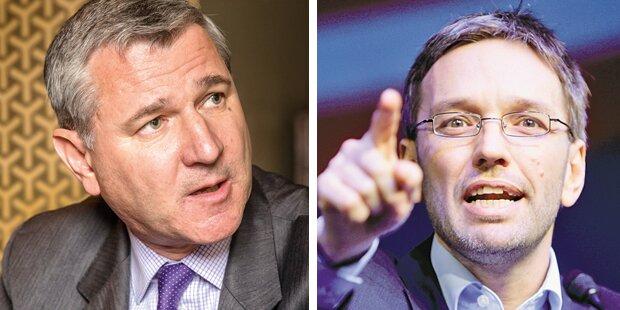 TV-Duell der Wahl-Chefs
