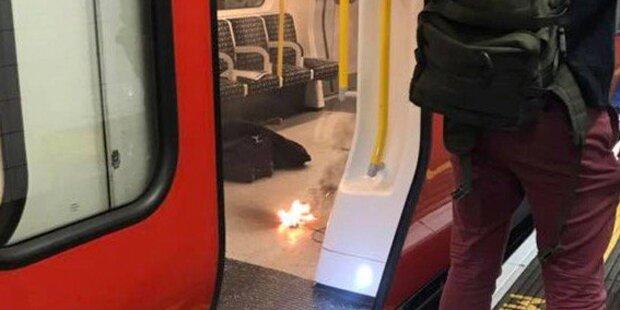 Brennender Akku: Panik in Londoner U-Bahn