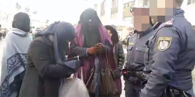 Das sind die Strafen der Niqab-Provokateurinnen