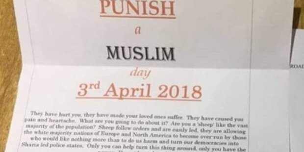 Verdächtige Pakete an Muslime geschickt