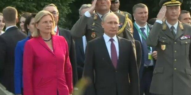 Putin kommt am Samstag zu Kneissl-Hochzeit
