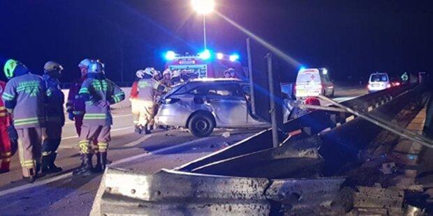 19-Jähriger stirbt bei Horror-Crash auf der A10