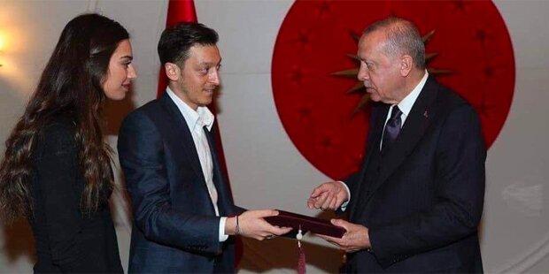Erdogan soll Trauzeuge von Özil werden