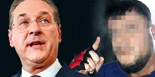 Anschlagsplan gegen Strache: Verdächtiger hatte Waffe