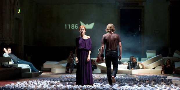 'Trojanische Pferd' im Burgtheater-Kasino