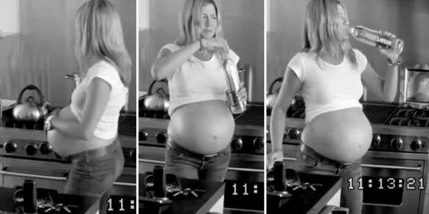 Aniston schwanger mit Drillingen