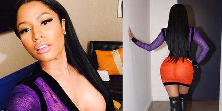 Nicki Minaj zeigt mal wieder ALLES