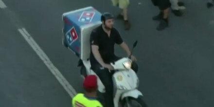 G-20-Feuer: Das ist der härteste Pizza-Mann der Welt