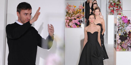 Raf Simons zu minimalistisch für Dior?