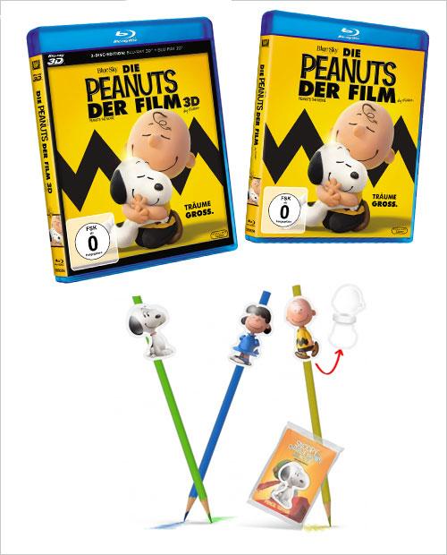 Die Peanuts - Der Film, Gewinnspiel