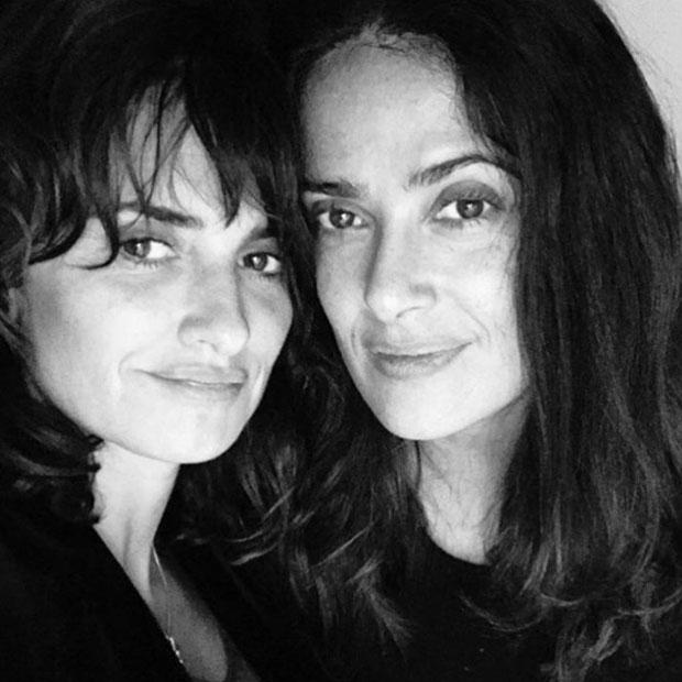 Penelope Cruz & Salma Hayek ungeschminkt