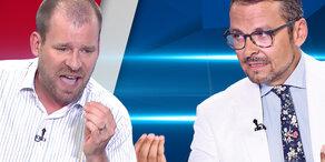 Fußi vs. Grosz: Brutalo-Duell zur Kneissl-Hochzeit