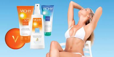 Sonnenschutz-Set von Vichy