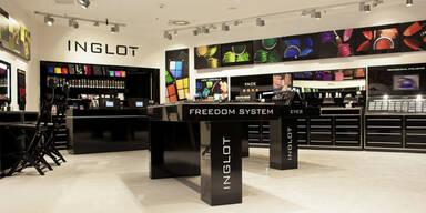 'Inglot' eröffnet 2. Filiale in Österreich