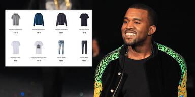 Kanye Wests Modelinie komplett ausverkauft