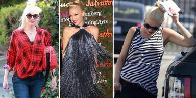 Gwen Stefani versteckt ihren Babybauch