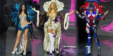 Kostüm-Parade bei der Miss Universe