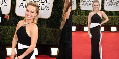Hayden kaufte ihre Golden Globes-Robe